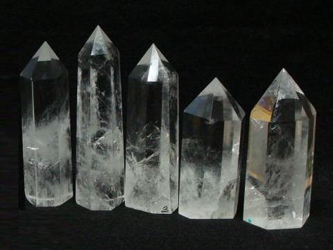 [単品]天然水晶ポイント【A】6XLサイズ