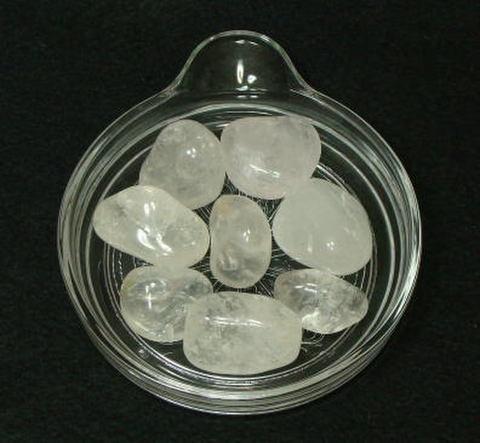 天然水晶タンブル(R)300g