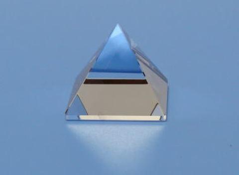 【AA】天然水晶ピラミッド25mm