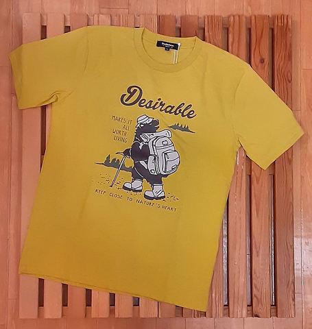 アウトドア柄Tシャツ