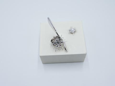 アルパパーツ・雪の結晶大小セット