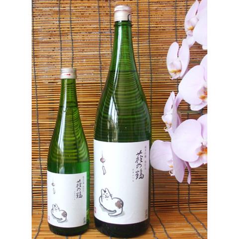 夏酒・萩の鶴 純米吟醸 別仕込(夕涼み猫ラベル)1800ml