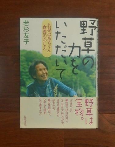 野草の力をいただいて(2011.6) : 若杉ばあちゃん食養のおしえ/若杉友子著/五月書房(book-5557)送料込み