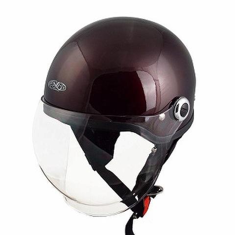 TNK SQ-34 ヘルメット マルーン FREE(58-59cm)