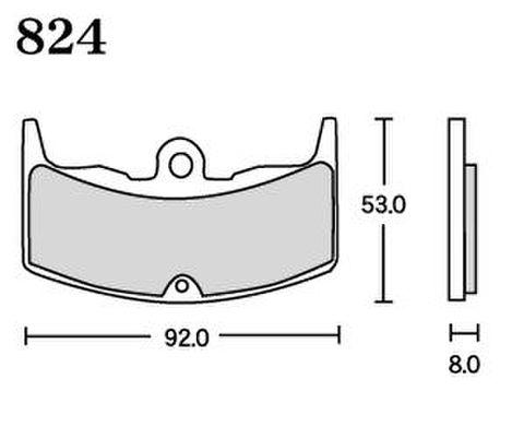 RK FA5 824 ブレーキパッド