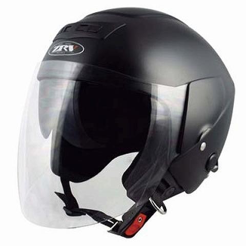 TNK ZRV ジェットヘルメット ハーフマッドブラック