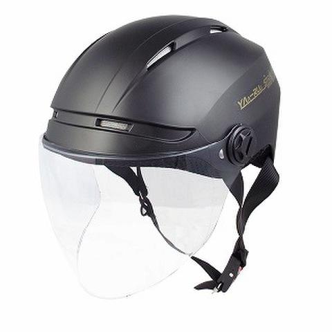 TNK STR-Air ハーフヘルメット H.M.BLACK D. FREE(58-60㎝未満)