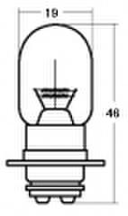スタンレー A3603 12V25/25W T19L 10ケ (1箱10ケ入)