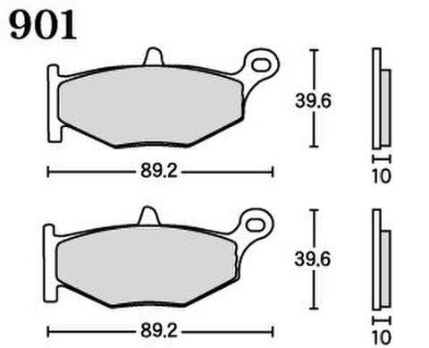 RK FA5 901 ブレーキパッド