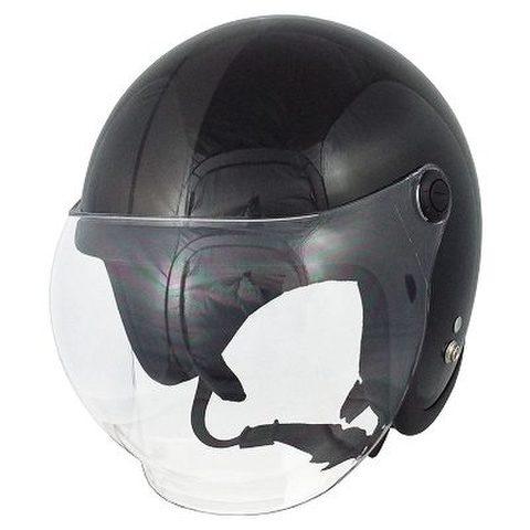 TNK JLT ジェットヘルメット BK/GM FREE(58-59cm)