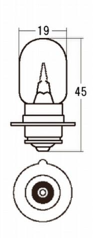 スタンレー A3601L *12V15W T19 10ケ (1箱10ケ入)