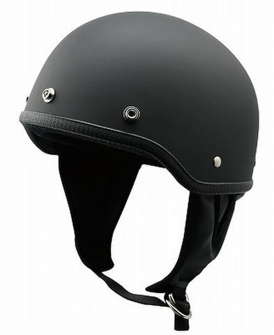 TNK B-50 ハーフヘルメット M.BLACK FREE(58-59㎝)