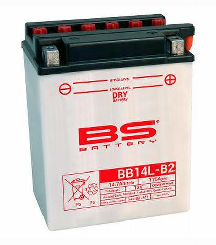 BSバッテリー BB14L-B2