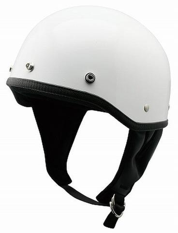 TNK B-50 ハーフヘルメット WHITE FREE(58-59㎝)
