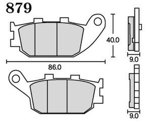 RK MAX 879 ブレーキパッド