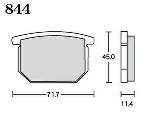 RK FA5 844 ブレーキパッド