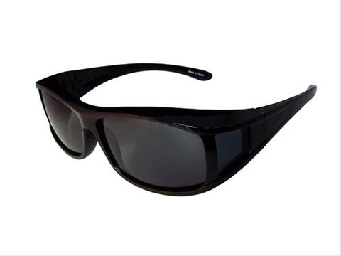 TNK OV-M3 OVERサングラス ブラック/スモーク偏光