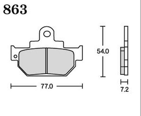 RK FA5 863 ブレーキパッド