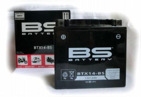 BSバッテリー BTX14-BS