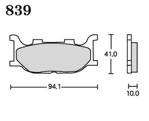 RK UA7 839 ブレーキパッド