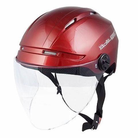 TNK STR-Air ハーフヘルメット C.RED D. FREE(58-60㎝未満)