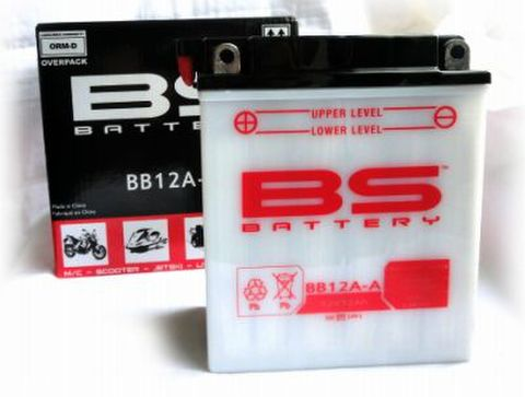 BSバッテリー BB12A-A