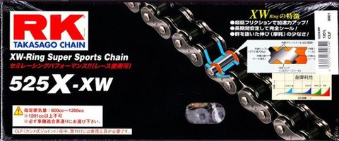 RK 525X-XW 130L チェーン
