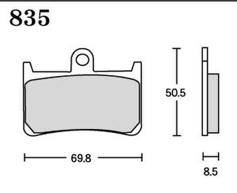 RK FA5 835 ブレーキパッド