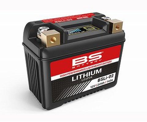 BSバッテリー BSLi-02 リチウムイオン