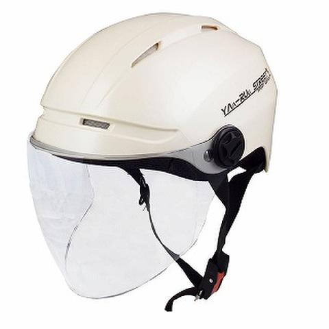 TNK STR-Air ハーフヘルメット P.WHITE D. FREE(58-60㎝未満)