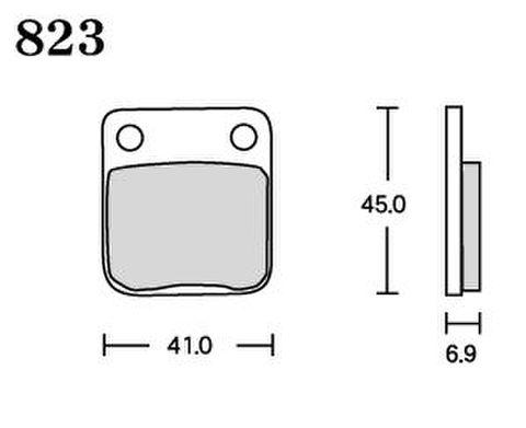 RK FA5 823 ブレーキパッド