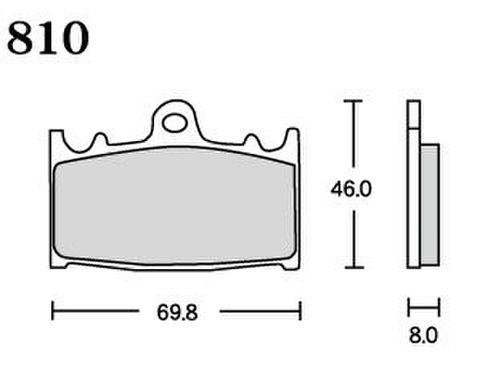 RK UA7 810 ブレーキパッド