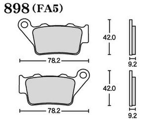 RK FA5 898 ブレーキパッド