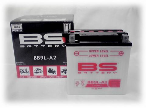 BSバッテリー BB9L-A2
