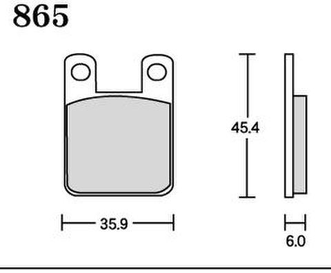 RK FA5 865 ブレーキパッド