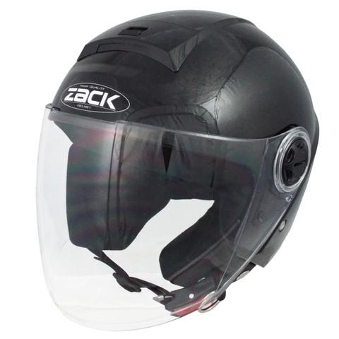TNK ZR-20 ジェットヘルメット BLACK FREE(58-59cm)