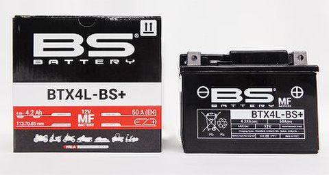 BSバッテリー BTX4L-BS+