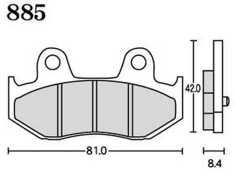 RK FA5 885 ブレーキパッド