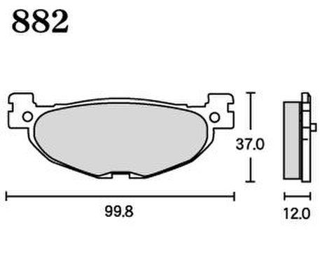 RK FA5 882 ブレーキパッド