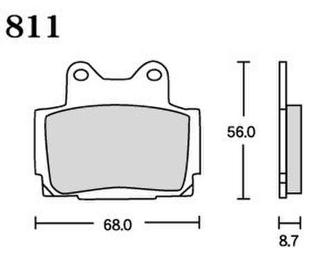 RK UA7 811 ブレーキパッド