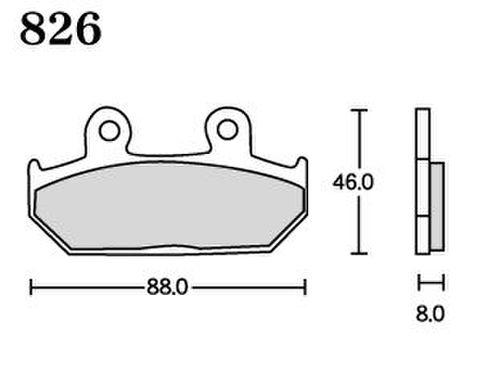 RK FA5 826 ブレーキパッド