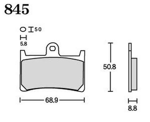 RK FA5 845 ブレーキパッド