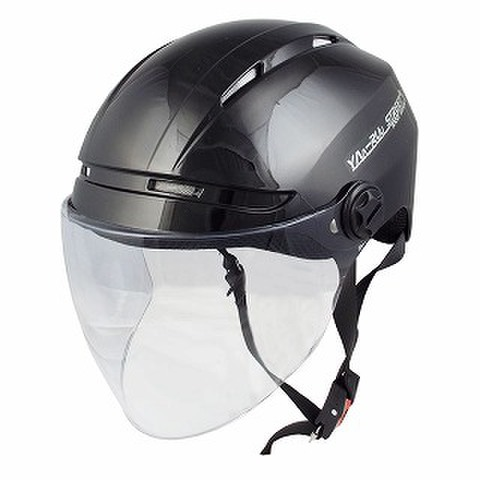 TNK STR-Air ハーフヘルメット BLACK D. FREE(58-60㎝未満)