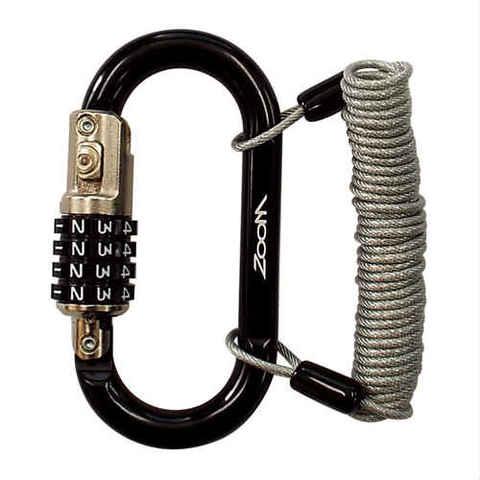 TNK ZW-BK ヘルロックカラビナワイヤー付き ブラック