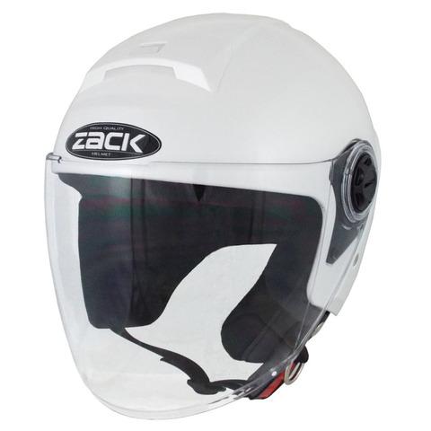 TNK ZR-20 ジェットヘルメット P.WHITE FREE(58-59cm)