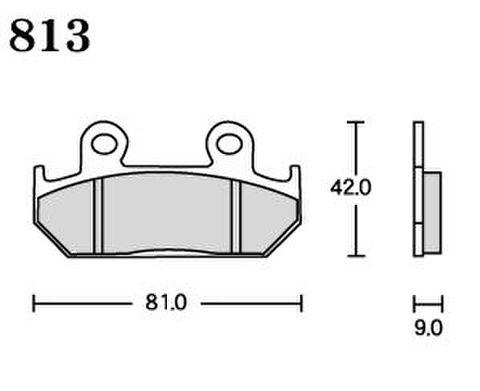 RK UA7 813 ブレーキパッド    *