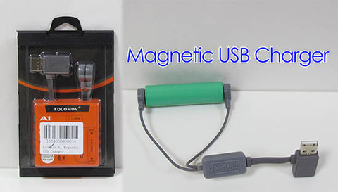 Folomov A1 Magnetic USB充電器 1バンク