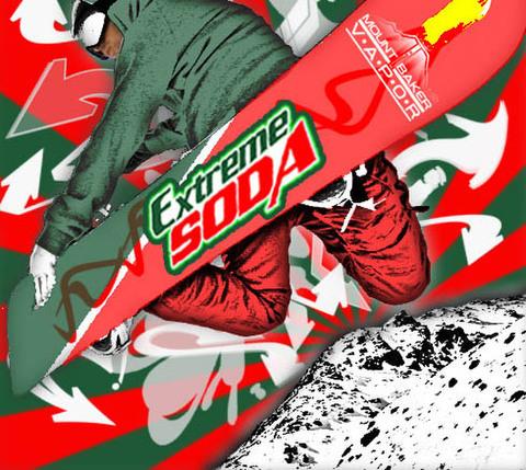 [Extreme Soda]Mt. Baker Vapor Flavoring Base 15ml