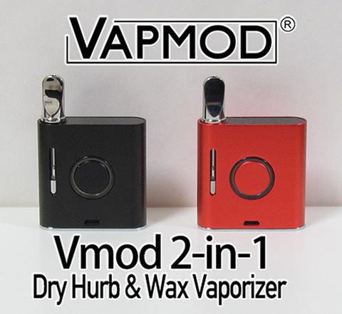 Vapmod Vmod 2-in-1 WAX & Dry Hurb Vaporizer 900mAh