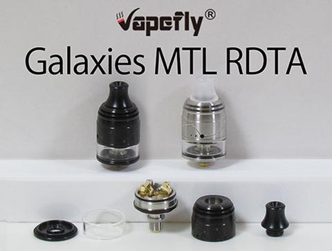 Vapefly GALAXIES MTL Squonk RDTA 22mm『RDTA』